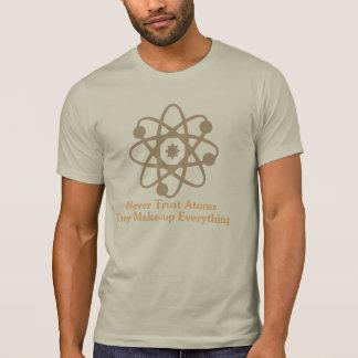 never trust atoms funny t-shirt design geek shirt