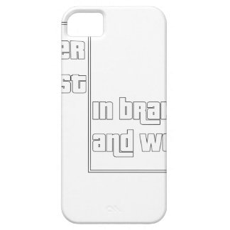 Never trust in brakes and women iPhone SE/5/5s case