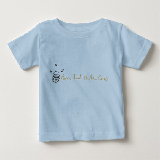 """""""Never trust the nice ones"""" Infant T-Shirt"""