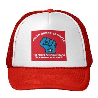 Never under estimate hat