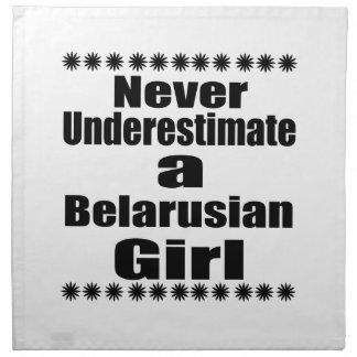 Never Underestimate A Belarusian Girlfriend Cloth Napkin