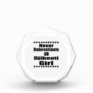 Never Underestimate A Djibouti Girlfriend Award
