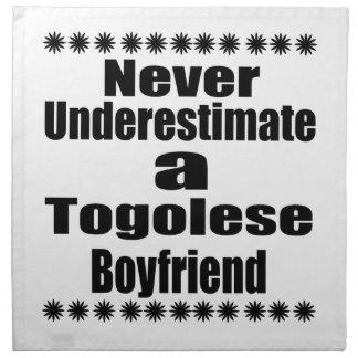 Never Underestimate A Togolese Boyfriend Napkin