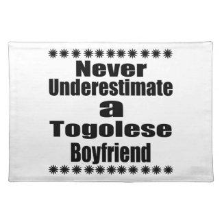 Never Underestimate A Togolese Boyfriend Placemat