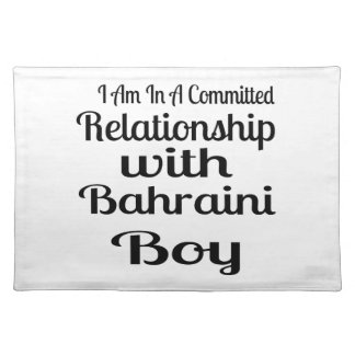 Never Underestimate Bahraini Daddy Placemat