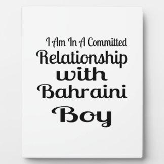 Never Underestimate Bahraini Daddy Plaque