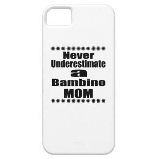Never Underestimate Bambino Mom iPhone SE/5/5s Case