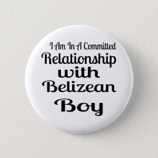 Never Underestimate Belizean Daddy Pinback Button
