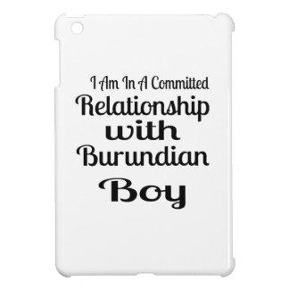 Never Underestimate Burundian  Daddy iPad Mini Case