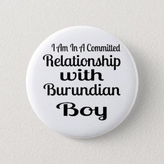 Never Underestimate Burundian  Daddy Pinback Button