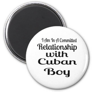 Never Underestimate Cuban Daddy Magnet