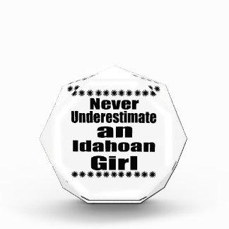 Never Underestimate  Idahoan  Girlfriend Award