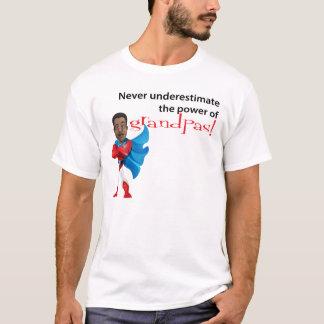 Never Underestimate Power Of Grandpas T-Shirt