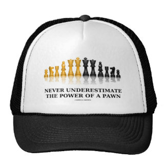 Never Underestimate The Power Of A Pawn (Chess) Trucker Hat