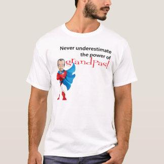 Never Underestimate The Power Of Grandpas T-Shirt