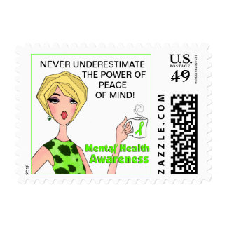 Never Underestimate the Power of Peace of Mind! Stamp