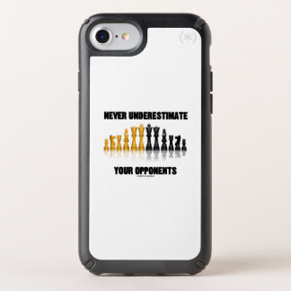 Never Underestimate Your Opponents Chess Attitude Speck iPhone Case