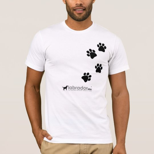 never walk alone - 2 side paws T-Shirt