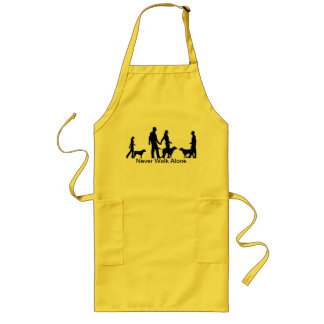 Never Walk Alone Long Apron