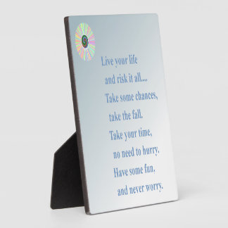 Never Worry Plaques