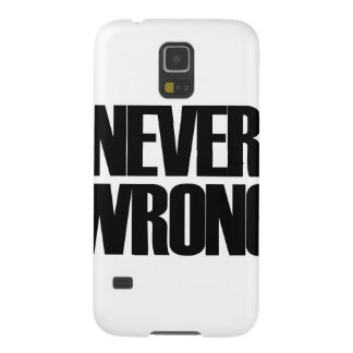 Never Wrong Galaxy S5 Covers