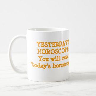 Never Wrong Horoscope Coffee Mug