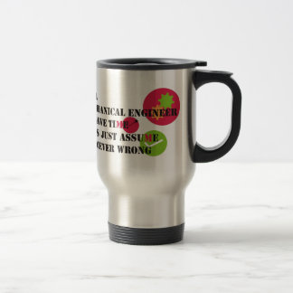 never wrong 15 oz stainless steel travel mug
