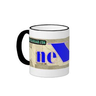 neVerBRAND.com Ringer Coffee Mug