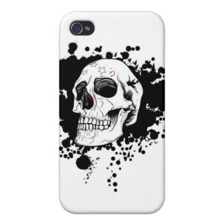NeverEver skull Cover For iPhone 4
