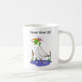 NeverGiveUp_20100715 Classic White Coffee Mug