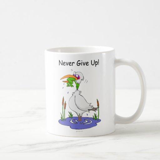NeverGiveUp_20100715 Coffee Mugs