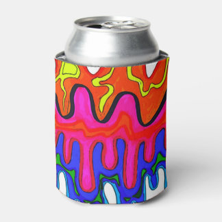 Neverita de bebidas colorido del limo enfriador de latas