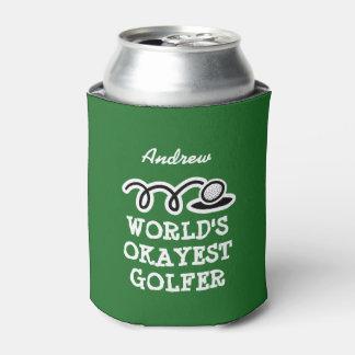 Neverita de bebidas de encargo del golf para el enfriador de latas