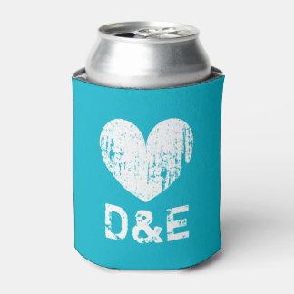 Neverita de bebidas del boda de las azules enfriador de latas