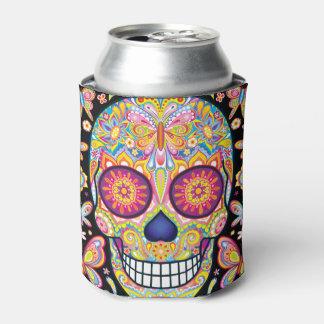Neverita de bebidas del cráneo del azúcar - día enfriador de latas