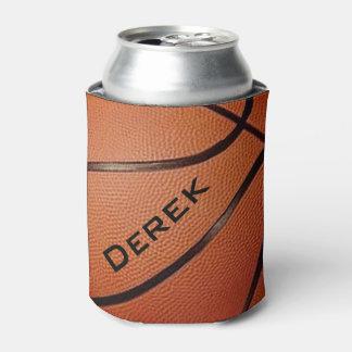 Neverita de bebidas del diseño del baloncesto enfriador de latas