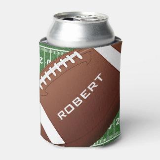 Neverita de bebidas del diseño del fútbol enfriador de latas