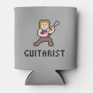 Neverita de bebidas del guitarrista del pixel enfriador de latas