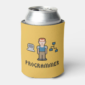 Neverita de bebidas del programador del pixel enfriador de latas