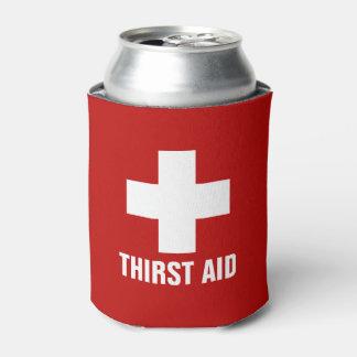 Neverita de bebidas divertido de la ayuda de la enfriador de latas