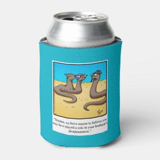 Neverita de bebidas divertido del humor de la boda enfriador de latas