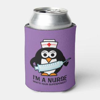 Neverita de bebidas divertido del oficio de enfriador de latas
