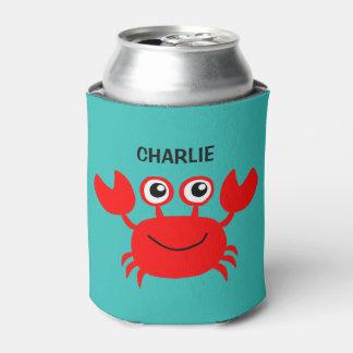 Neverita de bebidas feliz del personalizado del enfriador de latas