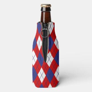 NEVERITA DE BEBIDAS rojo, blanco, azul de Argyle Enfriador De Botellas