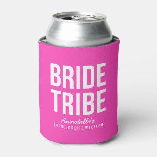 Neverita de bebidas rosado de neón de la tribu de enfriador de latas