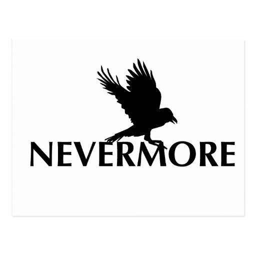 Nevermore 3 tarjeta postal