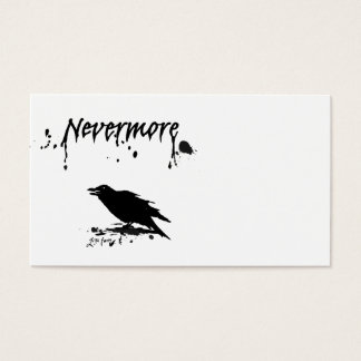 Nevermore Business Card