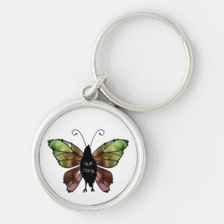 Nevermore Butterfly Raven Key Chains