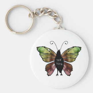 Nevermore Butterfly Raven Keychains