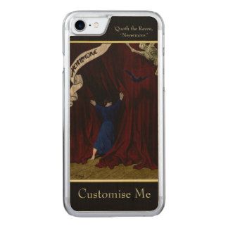 Nevermore... Carved iPhone 7 Case